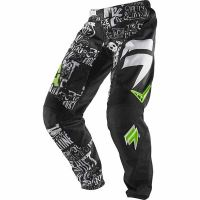 SHIFT kalhoty ASSAULT Masked pant black/green vel: 34