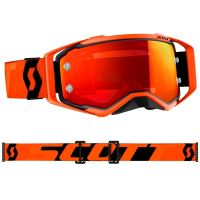 SCOTT brýle PROSPECT CH black/orange/orange chrome works – zrcadlové + čiré sklo