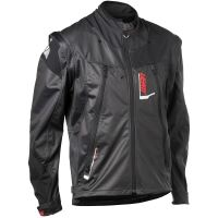LEATT enduro bunda GPX 4.5 Lite Jacket Black Grey