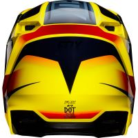 FOX přilba V1 Motif Helmet Yellow