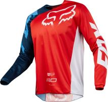 FOX dres 180 RACE 18 red, blue