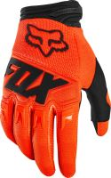 FOX rukavice DIRTPAW Race Fluo Orange