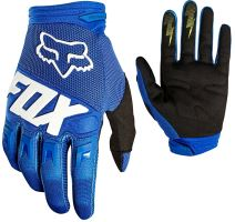 FOX rukavice DIRTPAW Race Glove Blue