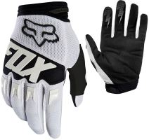 FOX rukavice DIRTPAW Race Glove White