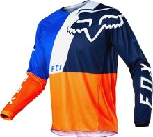 FOX dres 180 Lovl Jersey Orange Blue