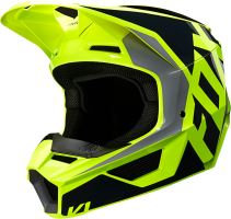 FOX přilba V1 Lovl Helmet Black Yellow