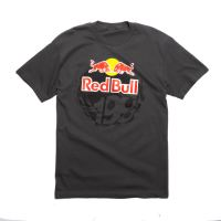 FOX tričko Red Bull Travis Pastrana šedé
