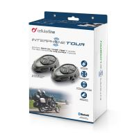 CellularLine - Interphone TOUR Twin Pack (sada pro 2 helmy)