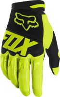 FOX rukavice DIRTPAW Race Fluo Yellow